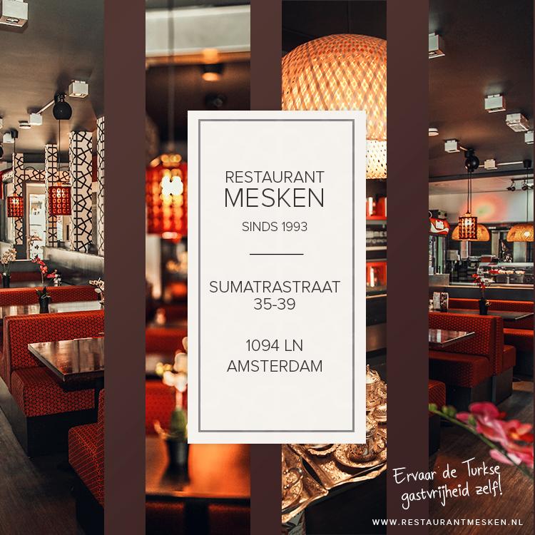 Catering restaurant mesken for Turkse kapper amsterdam oost